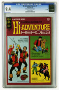 Silver Age (1956-1969):Adventure, Hi-Adventure Heroes #1 File Copy (Gold Key, 1969) CGC NM 9.4 Off-white to white pages. Overstreet 2005 NM- 9.2 value = $70. ...