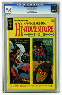 Hi-Adventure Heroes #2 File Copy (Gold Key, 1969) CGC NM+ 9.6 Off-white to white pages. Overstreet 2005 NM- 9.2 value =...