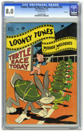 Golden Age (1938-1955):Cartoon Character, Looney Tunes and Merrie Melodies Comics #109 File Copy (Dell, 1950)CGC VF 8.0 Off-white pages. Overstreet 2005 VF 8.0 value...