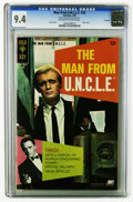 Silver Age (1956-1969):Adventure, The Man from U.N.C.L.E. #18 File Copy (Gold Key, 1968) CGC NM 9.4 Off-white to white pages. Photo cover. Joe Certa art. Over...