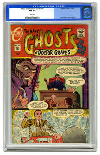 Many Ghosts of Dr. Graves #16 (Charlton, 1969) CGC NM 9.4 White pages. Steve Ditko cover and art. Highest CGC grade awar...