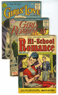Golden Age (1938-1955):Romance, Miscellaneous Golden Age Romance Group (Various Publishers,1952-56) Condition: Average GD+. Included are Lovelorn #28, ...(Total: 42 Comic Books)