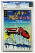 Bronze Age (1970-1979):Miscellaneous, Mod Wheels #2 File Copy (Gold Key, 1971) CGC NM 9.4 Off-whitepages. Overstreet 2005 NM- 9.2 value = $28. CGC census 2/06: 4...
