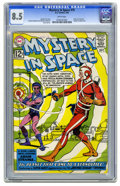 Silver Age (1956-1969):Superhero, Mystery in Space #75 (DC, 1962) CGC VF+ 8.5 White pages. Carmine Infantino and Murphy Anderson cover and art. Early JLA cros...