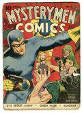 Golden Age (1938-1955):Superhero, Mystery Men Comics #8 (Fox, 1940) Condition: FR. Lou Fine cover. Art by Dick Briefer, George Tuska, and others. Overstreet 2...
