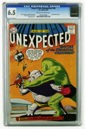 Silver Age (1956-1969):Horror, Tales of the Unexpected #40 (DC, 1959) CGC FN+ 6.5 Cream tooff-white pages. Space Ranger features begin. Bob Brown cover. A...