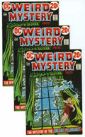 Bronze Age (1970-1979):Horror, Weird Mystery Tales #3 Multiple Copies Group (DC, 1972) Condition:Average VF. Nick Cardy cover art. Jack Kirby art. Approxi...(Total: 15)