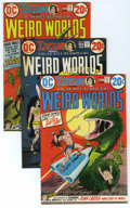 Bronze Age (1970-1979):Miscellaneous, Weird Worlds #2-9 Group (DC, 1972-74) Condition: Average FN/VF. Thefirst appearance of Iron Wolf is featured in this group ... (Total:36)