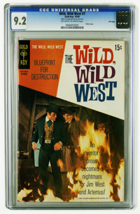 The Wild, Wild West #7 File Copy (Gold Key, 1969) CGC NM- 9.2 Off-white to white pages. Photo cover. Overstreet 2005 NM-...
