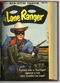Silver Age (1956-1969):Western, The Lone Ranger #121-132 Bound Volume (Dell, 1958-60). A set ofWestern Publishing file copies that have been trimmed and bo...