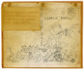 Original Comic Art:Miscellaneous, Dave Berg - Original Production Art for Mad's Dave Berg Looks atThings (New American Library, 1967). Rough pencil layout sk...