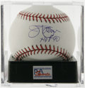 """Autographs:Baseballs, Jim Palmer Single Signed Baseball, PSA Gem Mint 10. A gorgeoussweet spot signature from the Hall of Fame pitcher, with a """"..."""