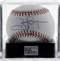 Autographs:Baseballs, Tony Gwynn Single Signed Baseball, PSA Mint+ 9.5. From Tony Gwynn,widely regarded as one of the best hitters in baseball h...