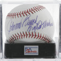 Autographs:Baseballs, Johnny Bench Single Signed Baseball, PSA Mint+ 9.5. Impressivecareer stats that include 10 Gold Gloves, two MVPs and a ROY...