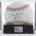 Autographs:Baseballs, Stan Musial Single Signed Baseball, PSA Mint+ 9.5. Stan the Man,whose 24 All-Star appearances is staggering to say the lea...