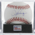Autographs:Baseballs, Alex Rodriguez Single Signed Baseball, PSA Mint 9. The ridiculouslywealthy New York Yankee A-Rod provides an excellent swe...