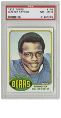 Football Cards:Singles (1970-Now), 1976 Topps Walter Payton #148 PSA NM-MT 8. Sweetness, the HOFrunning back whose impressive durability led to his missing o...