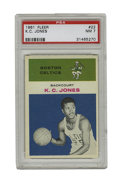 Basketball Cards:Singles (Pre-1970), 1961 Fleer K.C. Jones #22 PSA NM 7. A teammate of the great BillRussell at both the collegiate and professional level, K.C...