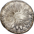 Mexico, Mexico: Republic 8 Reales 1837 Ca-AM VF Details (Surface Hairlines)NGC,...