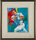 Baseball Collectibles:Others, 1999 Mark McGwire Original Painting by LeRoy Neiman....