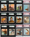 "Non-Sport Cards:Sets, 1911 T38 Union Cigar ""The Aviators"" (Gold Backs) Complete Set (25)- #1 on the SGC Set Registry! ..."