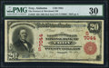 National Bank Notes:Alabama, Troy, AL - $20 1902 Red Seal Fr. 639 The Farmers & Merchants NB Ch. # (S)7044. ...