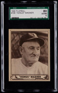 Baseball Cards:Singles (1940-1949), 1940 Play Ball Honus Wagner #168 SGC 80 EX/NM 6....