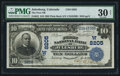 National Bank Notes:Colorado, Julesburg, CO - $10 1902 Plain Back Fr. 625 The First NB Ch. # (W)8205. ...