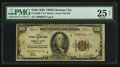 Fr. 1890-J* $100 1929 Federal Reserve Bank Note. PMG Very Fine 25 Net