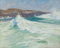 Fine Art - Painting, American:Antique  (Pre 1900), Charles Herbert Woodbury (American, 1864-1940). The DyingStorm. Oil on canvas. 29 x 36 inches (73.7 x 91.4 cm). Signed...