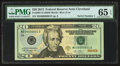 Small Size:Federal Reserve Notes, Serial Number 1 Fr. 2097-D $20 2013 Federal Reserve Note. PMG Gem Uncirculated 65 EPQ.. ...