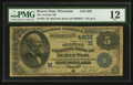 National Bank Notes:Wisconsin, Beaver Dam, WI - $5 1882 Date Back Fr. 533 The German NB Ch. # (M)4602. ...