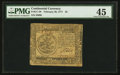 Colonial Notes:Continental Congress Issues, Continental Currency February 26, 1777 $5 PMG Choice Extremely Fine45.. ...