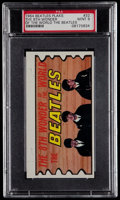 Non-Sport Cards:Singles (Pre-1950), 1964 Beatles Plaks The 8th Wonder Of The World The Beatles#32 PSA Mint 9....