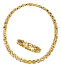 Gold Jewelry Suite, Cartier, French