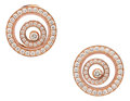 Estate Jewelry:Earrings, Diamond, Pink Gold Earrings, Chopard. ...