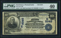 National Bank Notes:Pennsylvania, Fairchance, PA - $10 1902 Date Back Fr. 617 The First NB Ch. #(E)8245. ...