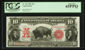 Large Size:Legal Tender Notes, Fr. 122 $10 1901 Legal Tender PCGS Gem New 65PPQ.. ...