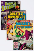 Silver Age (1956-1969):Horror, House of Secrets/My Greatest Adventure Group of 16 (DC, 1959-63)Condition: Average GD.... (Total: 16 Comic Books)