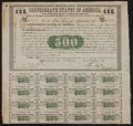 Confederate Notes:Group Lots, Ball 6 Cr. 7 $500 1861 Bond Fine.. ...