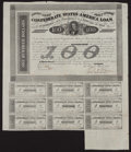 Confederate Notes:Group Lots, Ball 165 Cr. 123 $100 1863 Bond Fine.. ...