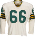 Football Collectibles:Uniforms, 1959-61 Ray Nitschke Game Worn Green Bay Packers Jersey....