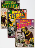 Silver Age (1956-1969):Horror, House of Secrets/House of Mystery Group of 10 (DC, 1960-64)Condition: Average FN.... (Total: 10 Comic Books)