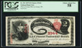 National Bank Notes:Wisconsin, La Crosse, WI - $2 1875 Fr. 391 The La Crosse NB Ch. # 2344. ...