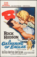 """Movie Posters:Drama, A Gathering of Eagles (Universal, 1963). One Sheet (27"""" X 41""""). Drama.. ..."""