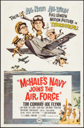 """Movie Posters:Comedy, McHale's Navy Joins the Air Force & Other Lot (Universal, 1965). One Sheets (2) (27"""" X 41""""). Comedy.. ... (Total: 2 Items)"""