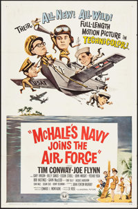 """McHale's Navy Joins the Air Force & Other Lot (Universal, 1965). One Sheets (2) (27"""" X 41""""). Comedy. ... (..."""