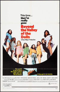 "Beyond the Valley of the Dolls (20th Century Fox, 1970). One Sheet (27"" X 41""). Sexploitation"