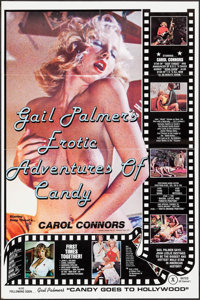"""Erotic Adventures of Candy (Caribbean Films, 1978). One Sheet (25"""" X 37.75""""). Adult"""