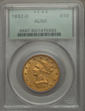 Liberty Eagles, 1882-O $10 AU50 PCGS. Variety 1....